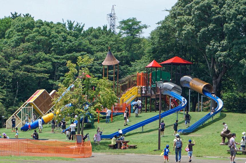 平塚総合公園の子ども用遊具