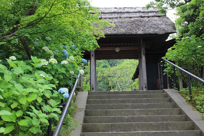 北鎌倉・東慶寺の階段