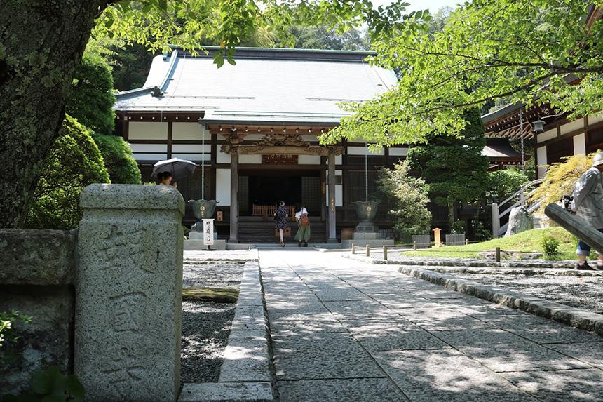 鎌倉・報告寺の本堂