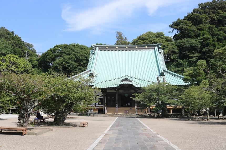 鎌倉・光明寺の本堂