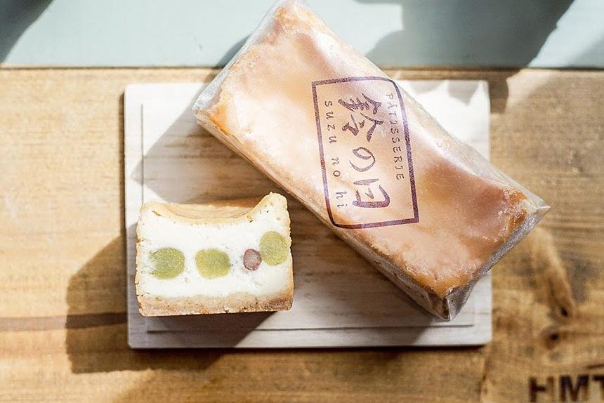 鎌倉みやげの洋菓子スイーツ『鈴の日』のオリジナルのチーズケーキ