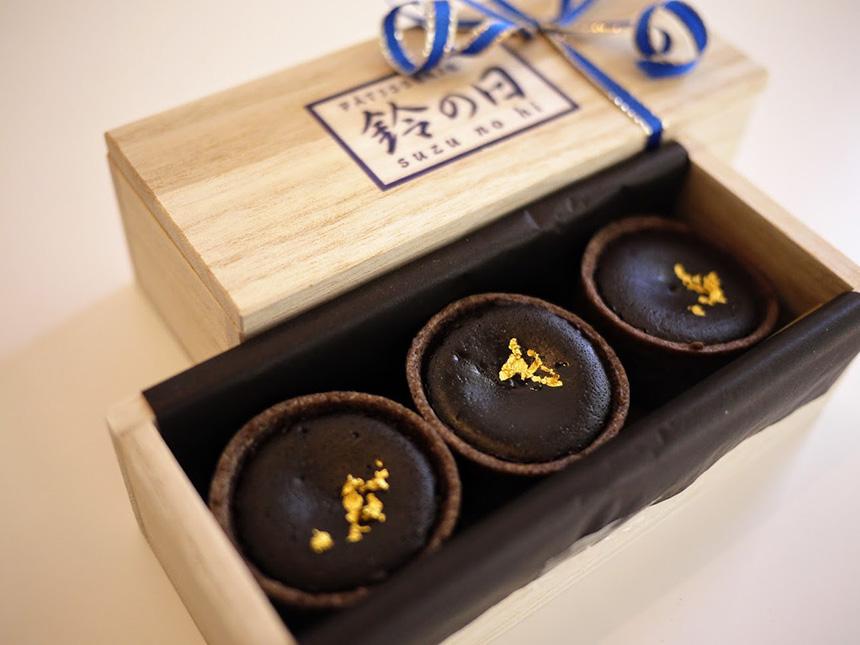 鎌倉みやげの洋菓子スイーツ『鈴の日』の鈴の日ショコラ
