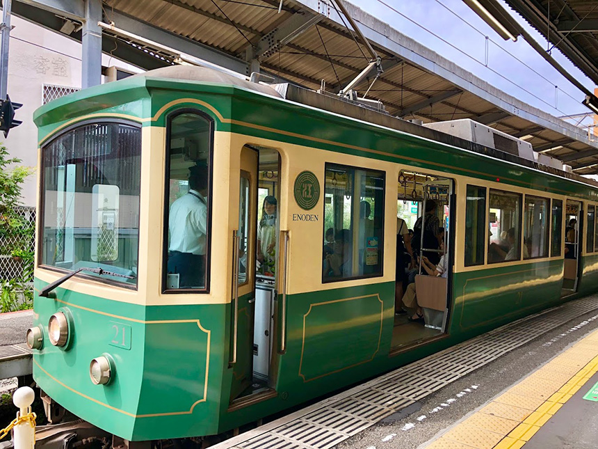 鎌倉駅から長谷駅へ