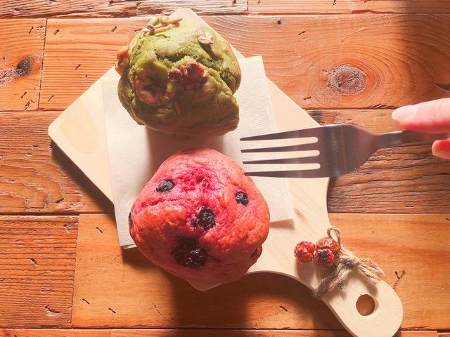 湘南オーガニックサラダ専門店『very veggy by BRUNCHES(ベリー ベジー バイ ブランチーズ)』のヴィーガンマフィン