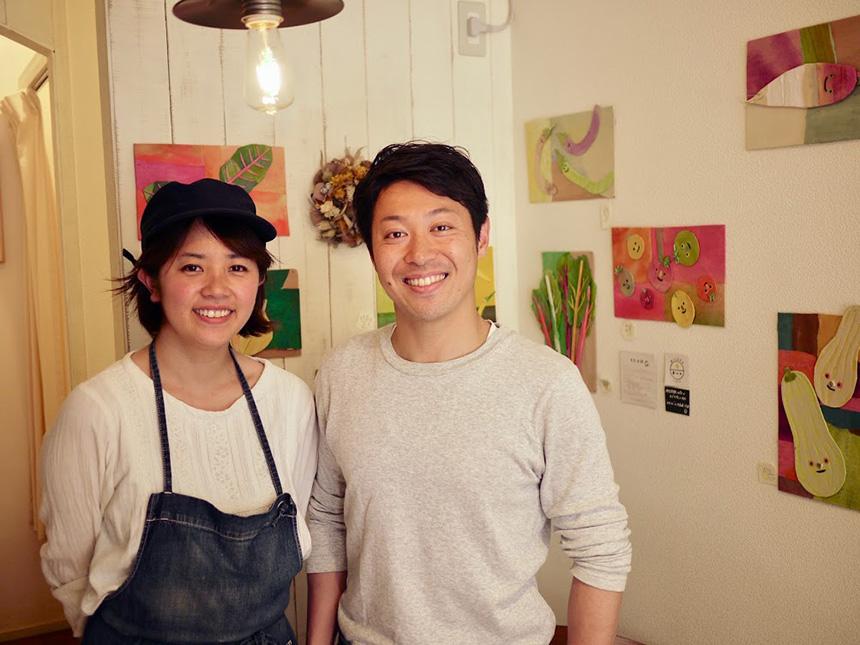 鎌倉の親子カフェ『MISORA cafe(ミソラカフェ)』のオーナーご夫妻