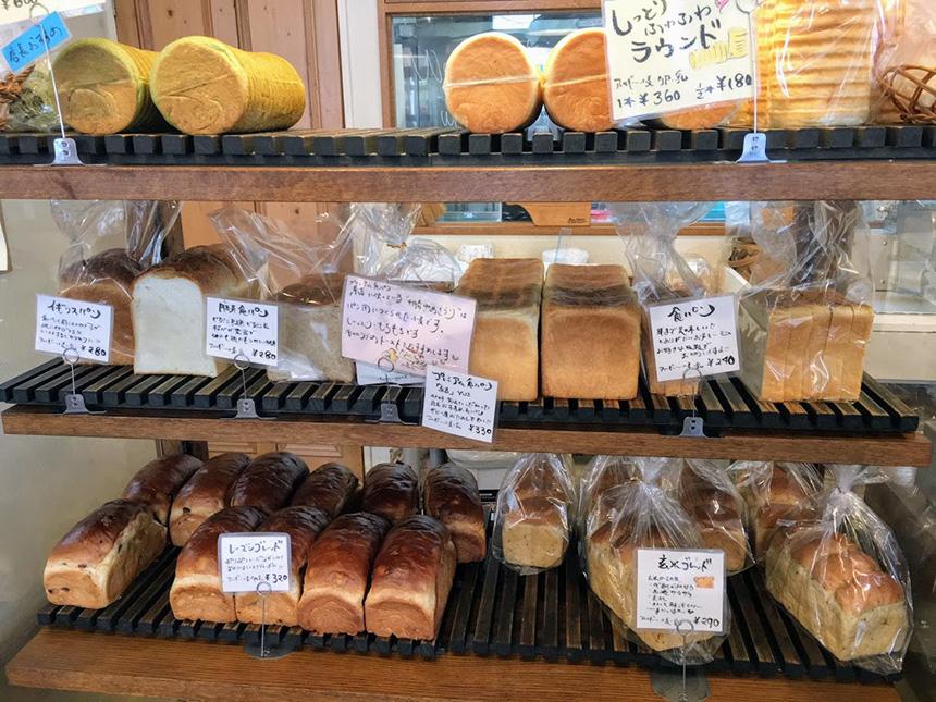藤沢のパン屋『ブーランジェリー・ユイ』の食パン