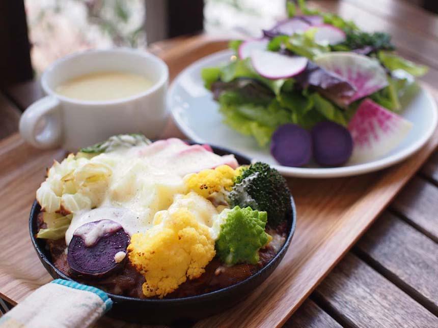 鎌倉野菜のベイクドカレー