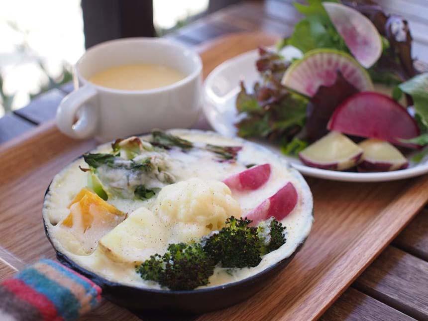鎌倉野菜のマカロニグラタン