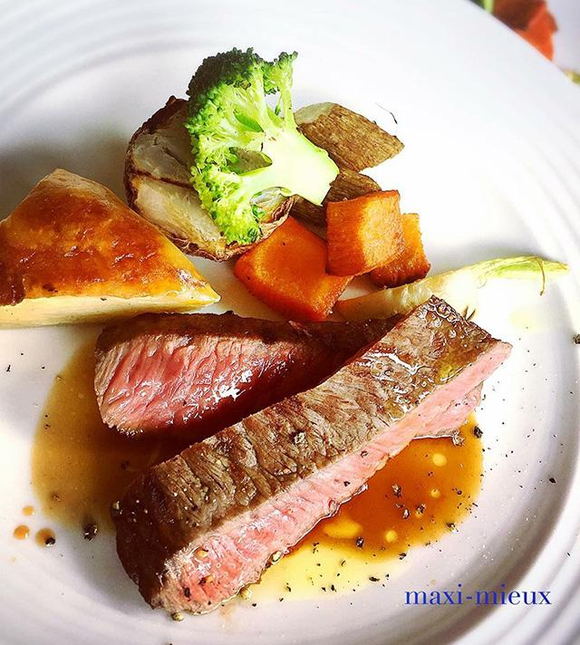 西鎌倉のフレンチレストラン『マキシミュー』のフレンチ料理