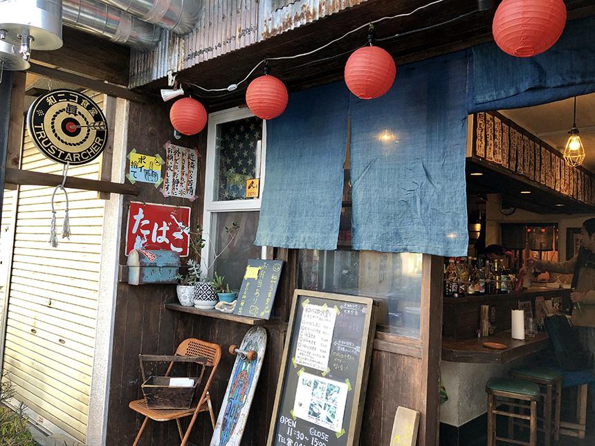 本鵠沼『和nico食堂』(ニコニコ食堂)の店舗外観