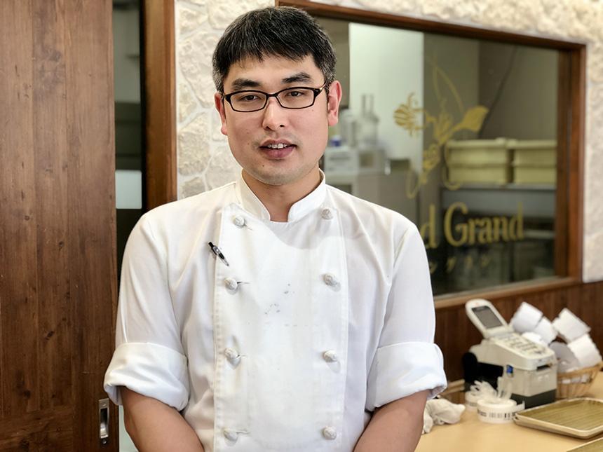 茅ヶ崎のケーキ屋『グラングラン』のパティシエ大竹さん