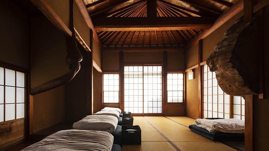 鎌倉ゲストハウスの内観