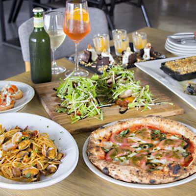 ピザ・パスタのランチコース