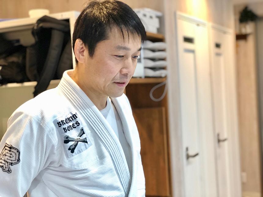 『SUPREME 柔術アカデミー』代表の佐野良次郎先生