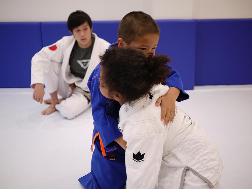柔術の打ち込み練習
