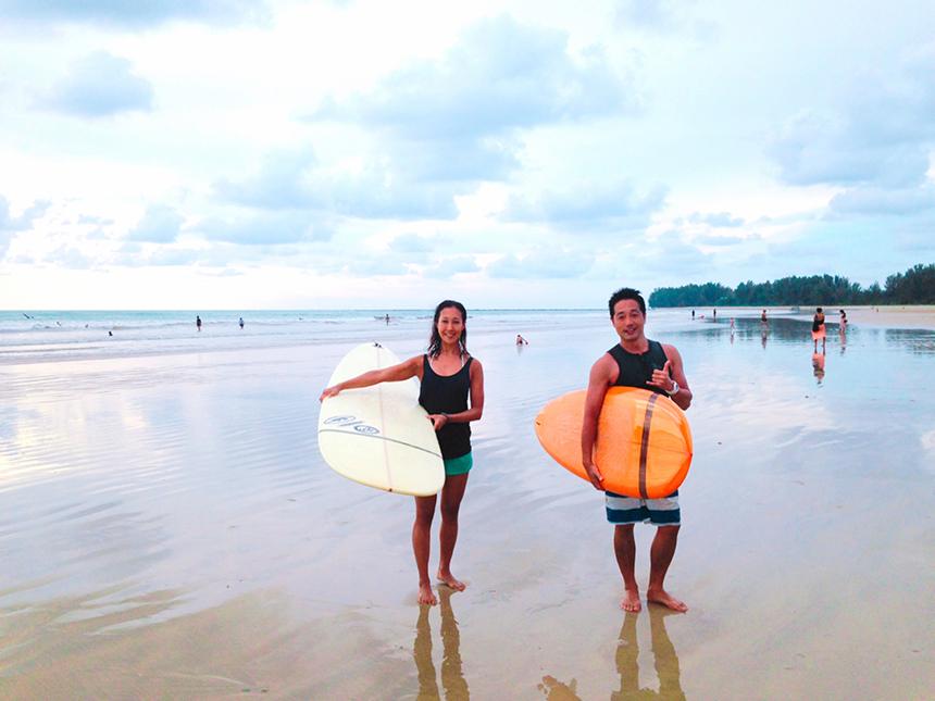 湘南の海とサーフィンとの出会い