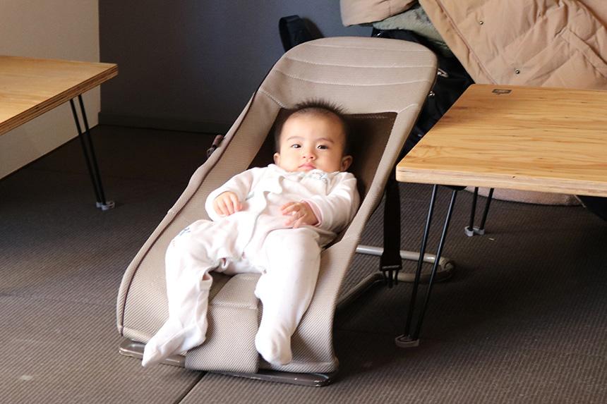 ねんねの赤ちゃんも一緒に過ごせる親子カフェ