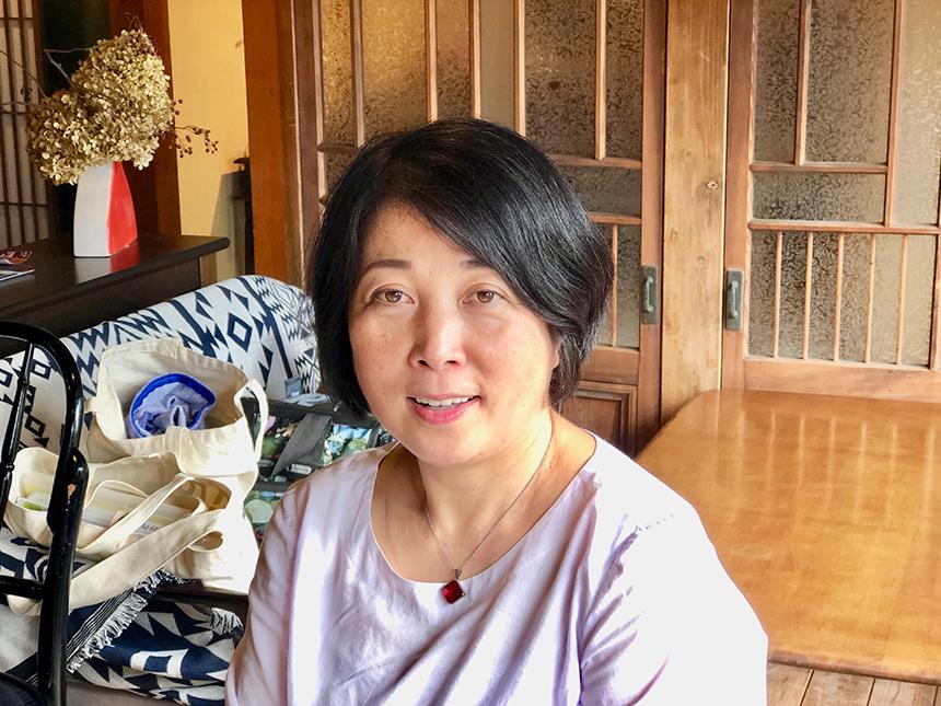 代表を務める野北康子さん