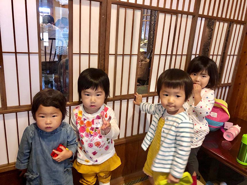 託児付きのイベント『葉山っ子すくすくパラダイス』の子どもたち