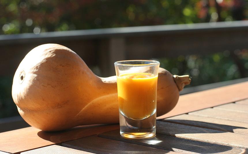 バターナッツかぼちゃのスイーツ