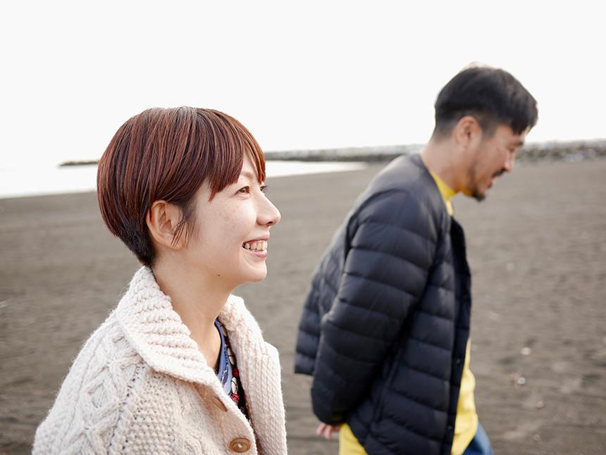 沼津産の鰹節を使ったダシ屋『NICATA(ニカタ)』の代表海瀬亮・里紗さんご夫妻
