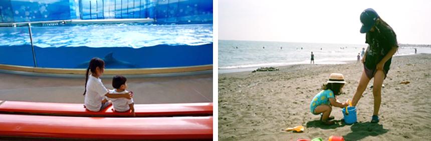 子どもと一緒に過ごす海のある暮らし