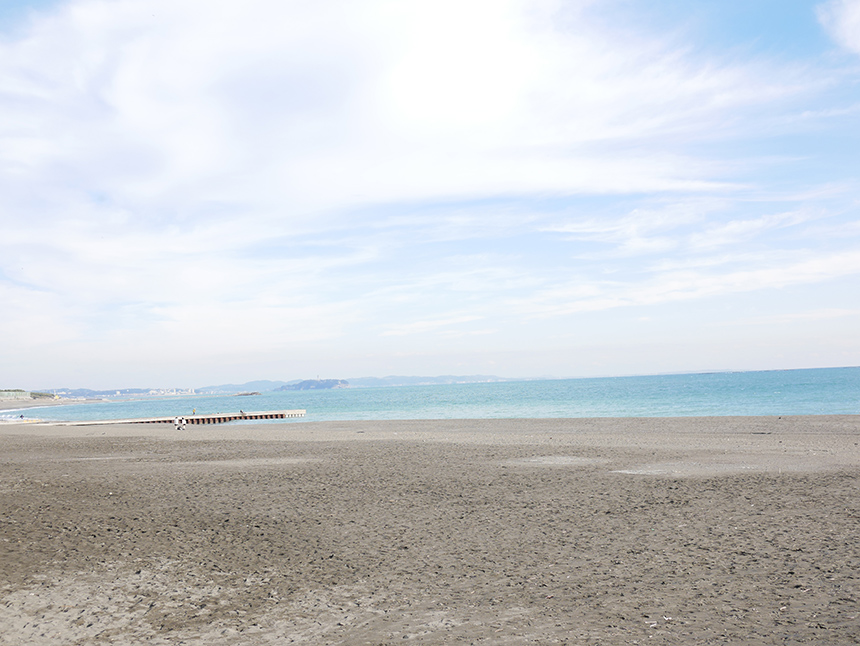 茅ヶ崎のサザンビーチ
