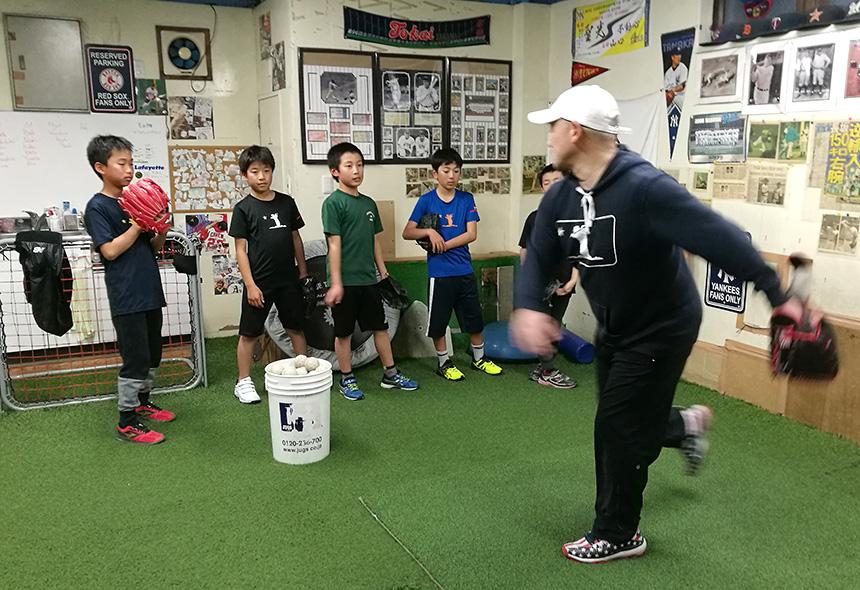 藤沢・野球塾『Perfect Pitch and Swing』少人数制の野球指導