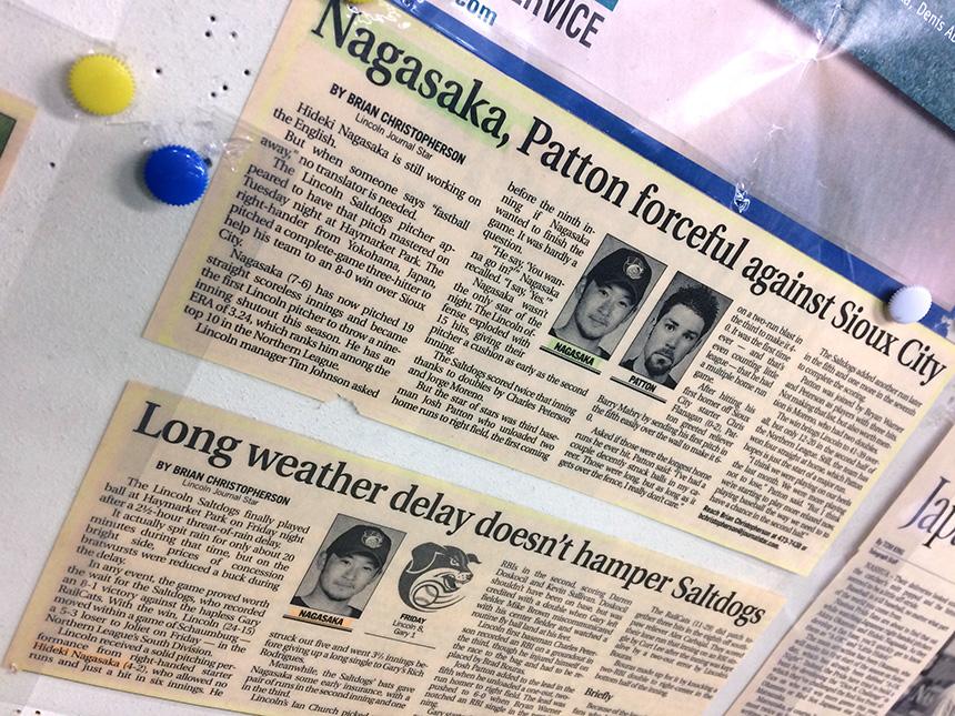 アメリカのプロリーグでチャレンジする長坂さんの野球記事