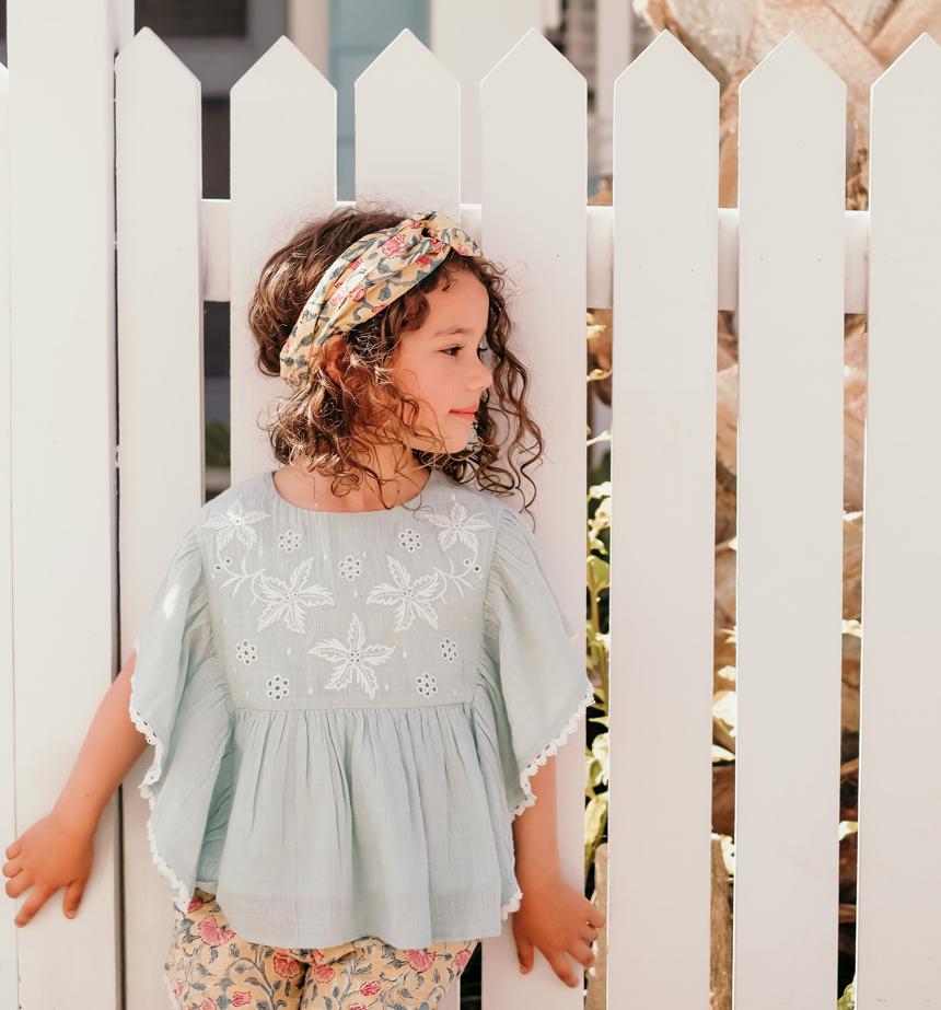 フランスの子供服『Louise Misha(ルイーズ・ミーシャ)』の新作ブラウス