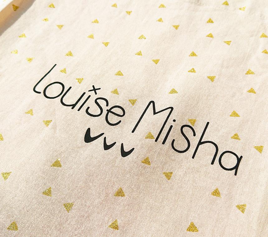 フランスの子供服『Louise Misha(ルイーズ・ミーシャ)』のマルシェバッグの詳細