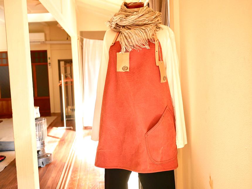 『Na Harvest』で製作している洋服