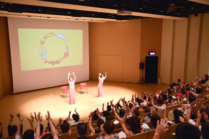 藤沢市Fプレイスでの『うみこころ』ファミリーコンサート