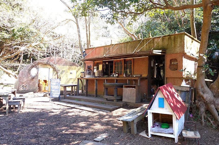 横須賀大楠山にある自然空間『SYOKU-YABO農園』