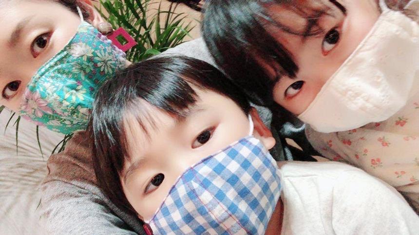 子ども用の布マスク