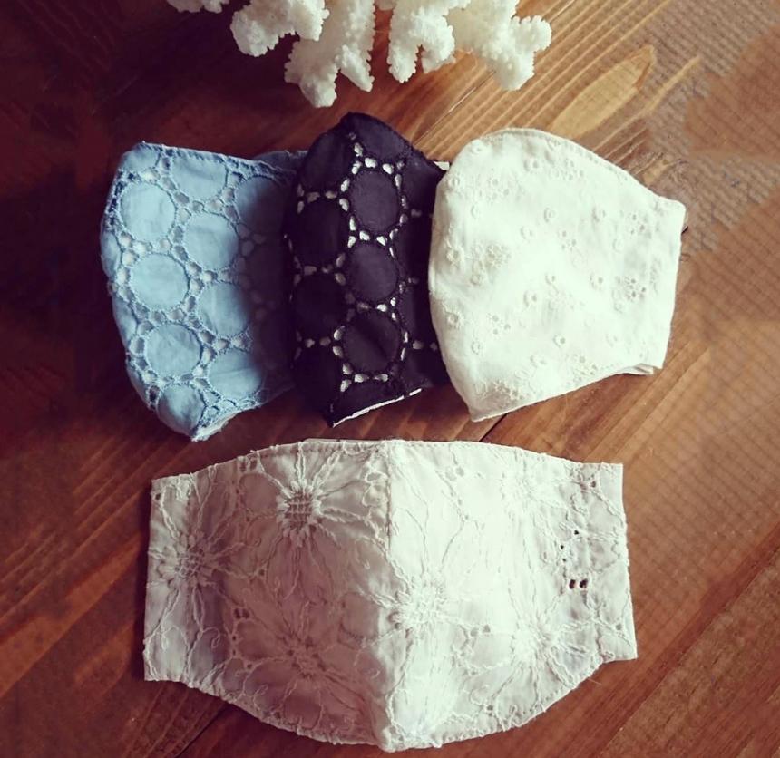 大人用の手作り布マスク