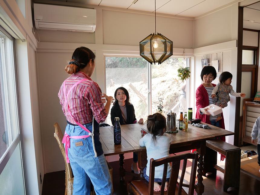 鎌倉コワーキングハウスで集う子育てママ