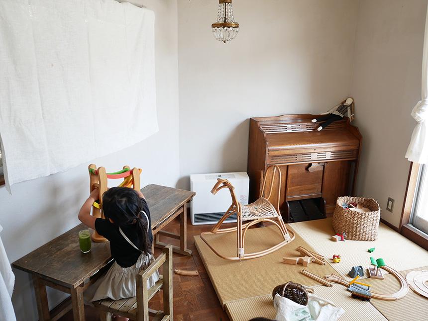 鎌倉コワーキングハウスのキッズスペース