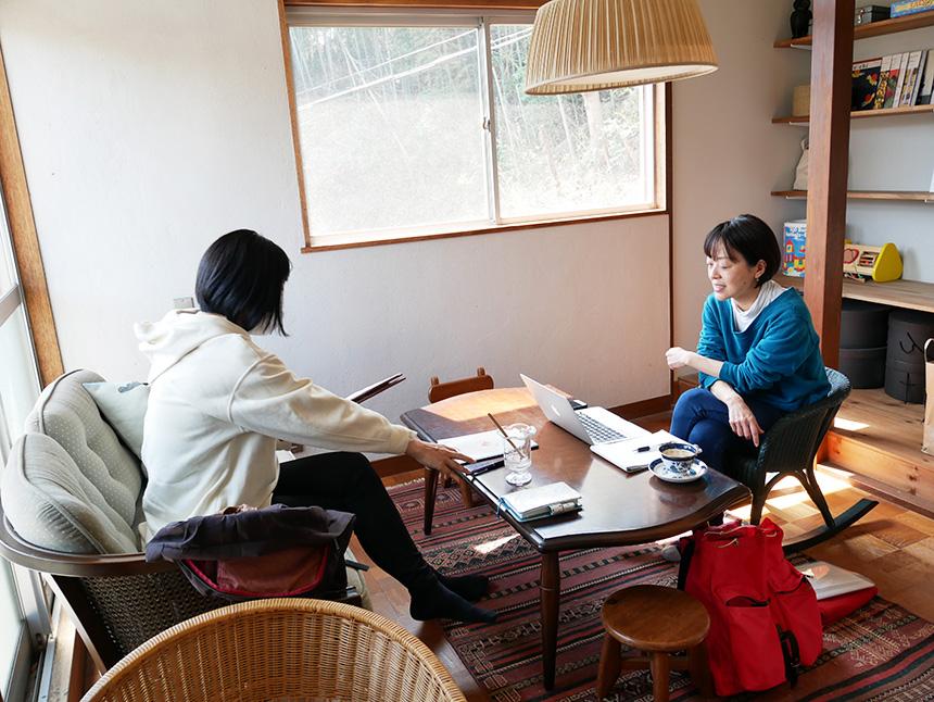 レンタルスペースとしても利用できる鎌倉コワーキングハウス