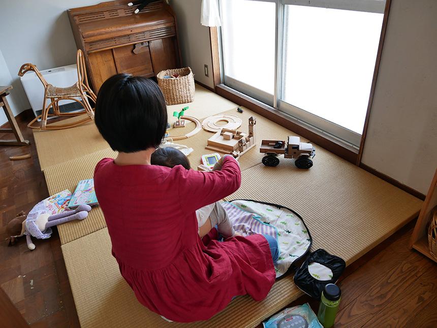 鎌倉コワーキングハウスで過ごす子育てママ