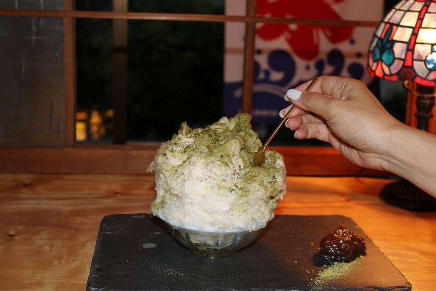 辻堂のかき氷屋さん「紬」天然氷のかき氷