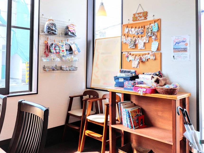 藤沢・辻堂のラーメン屋『はとり亭』で販売するハンドメイド小物