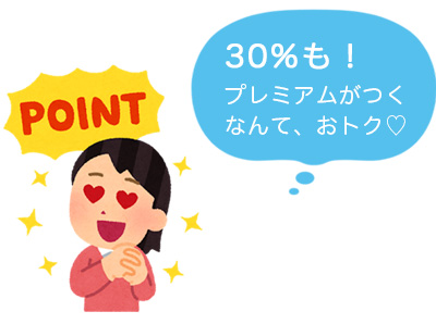 『ひらつか☆スターライトポイント』30%ポイント付きでお得!