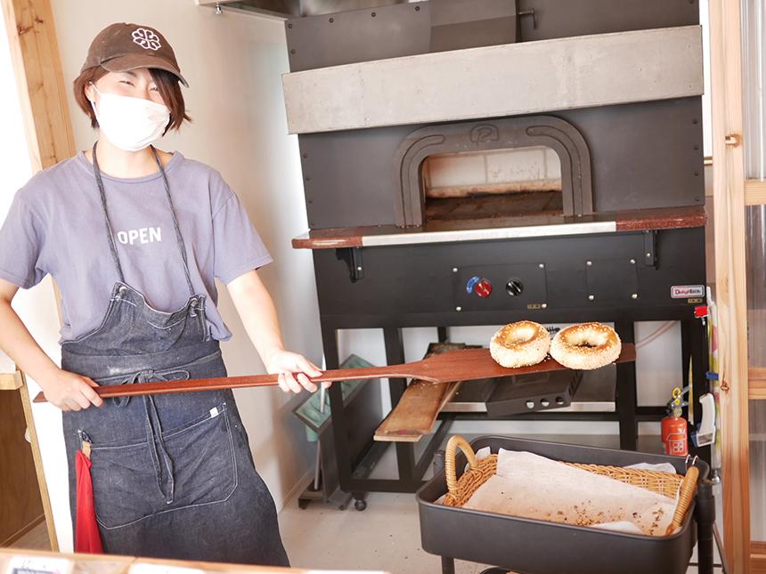 鎌倉のベーグル屋さん『べーぐるもへある』の焼きたてベーグル