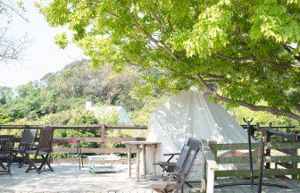 葉山・湘南国際村のカフェ『アーセンプレイス』のテラス席