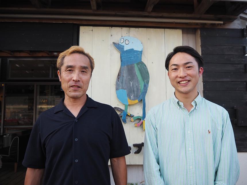 葉山・湘南国際村のカフェ『アーセンプレイス』のオーナー