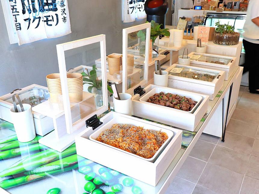 辻堂のお惣菜、お弁当のテイクアウト専門店『湘南フクモリ』のお惣菜