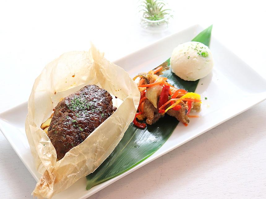 辻堂のお惣菜、お弁当のテイクアウト専門店『湘南フクモリ』の人気惣菜『山形牛100%ハンバーグ』