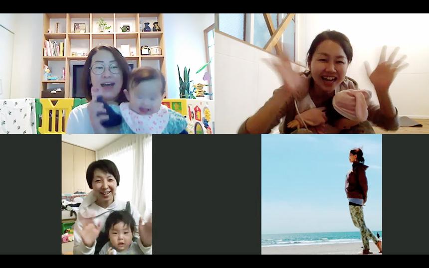 逗子・鎌倉で子育てママ向けのヨガオンラインレッスン
