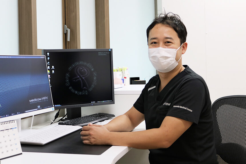 乳がん検診・母乳相談の湘南台ブレストクリニックの院長